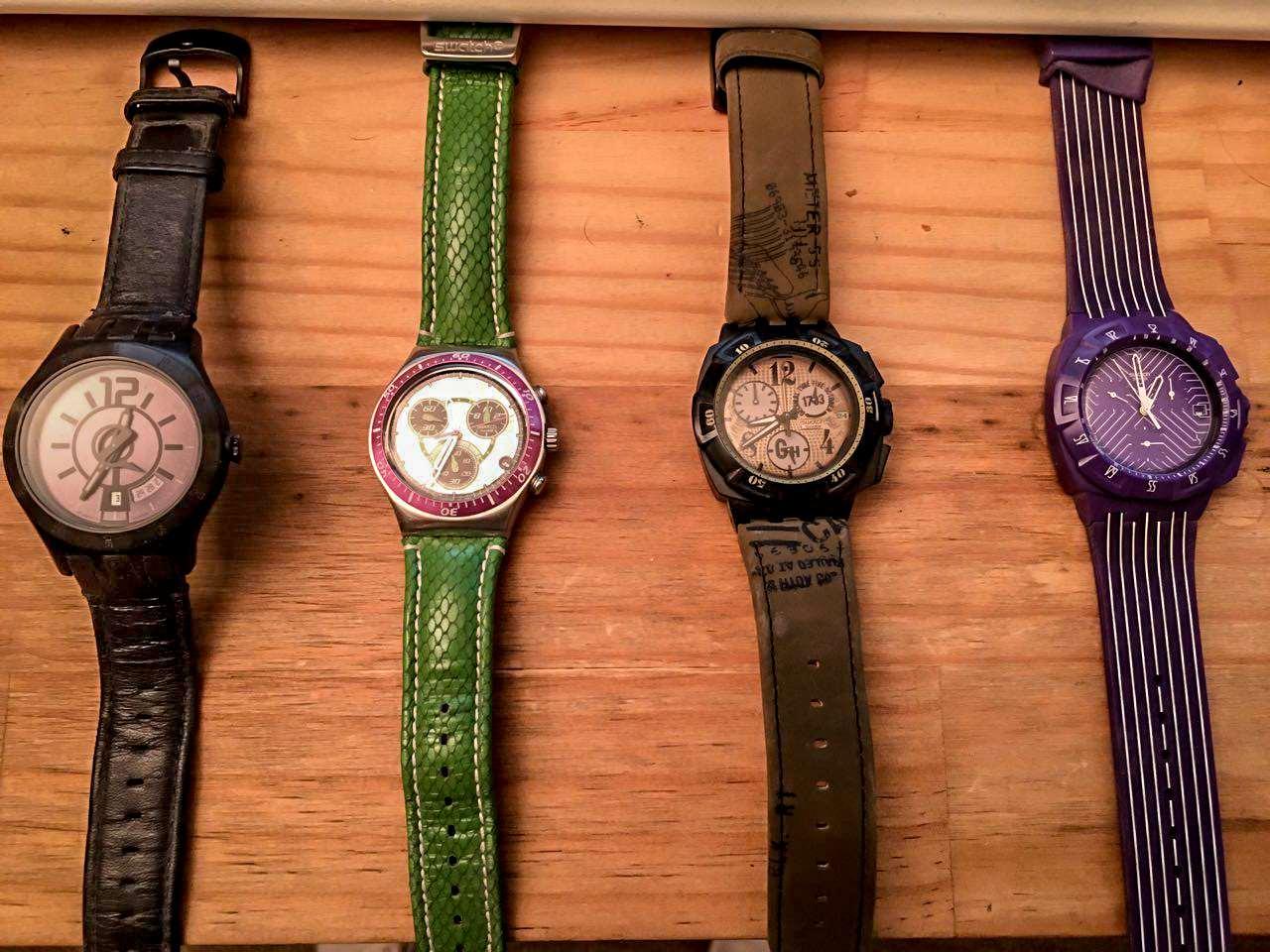 4 שעוני Swatch