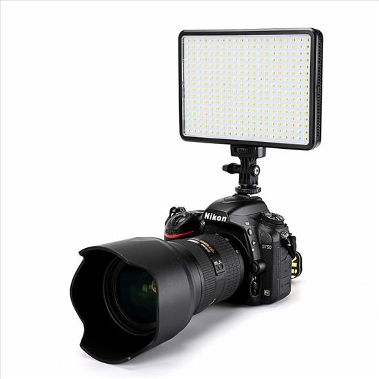 פנס פלאש לוידאו עם  360 LED