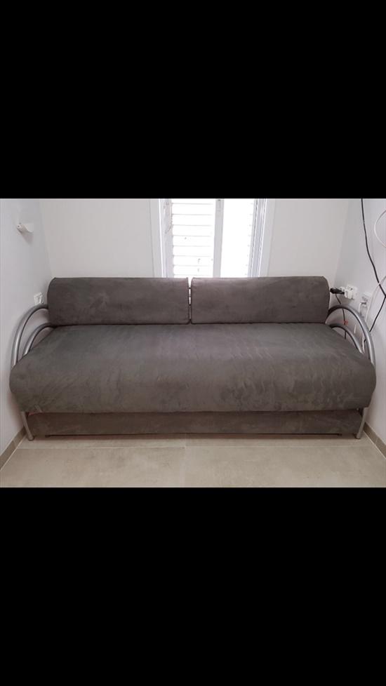 מיטת יחיד נפתחת+ ארגז מצעים