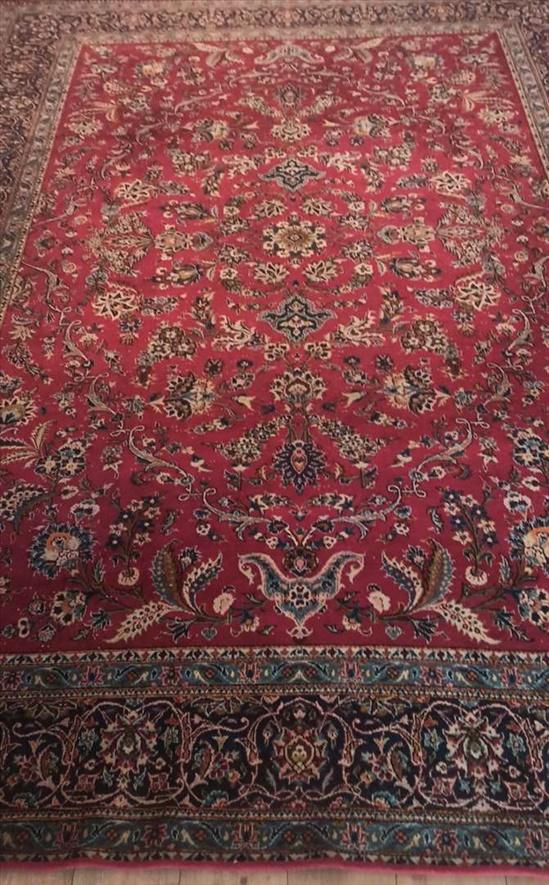 שטיח פרסי עבודת יד
