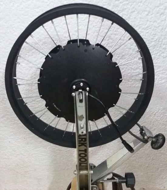 בניית גלגלים 20 ו 26 לחשמלים