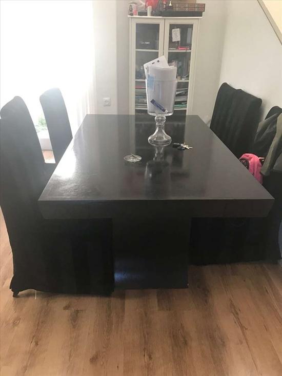 שולחן אוכל +8 כיסאות