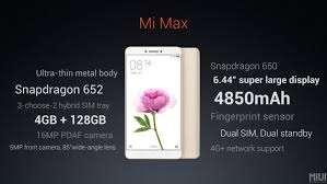 אקסומי mi max