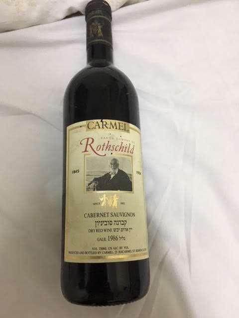 יין רוטשילד 1986 אוריגינל שמור