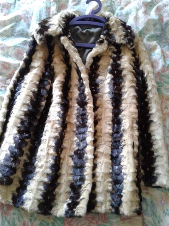 מעיל פרווה מינק (ויזון) אמיתי