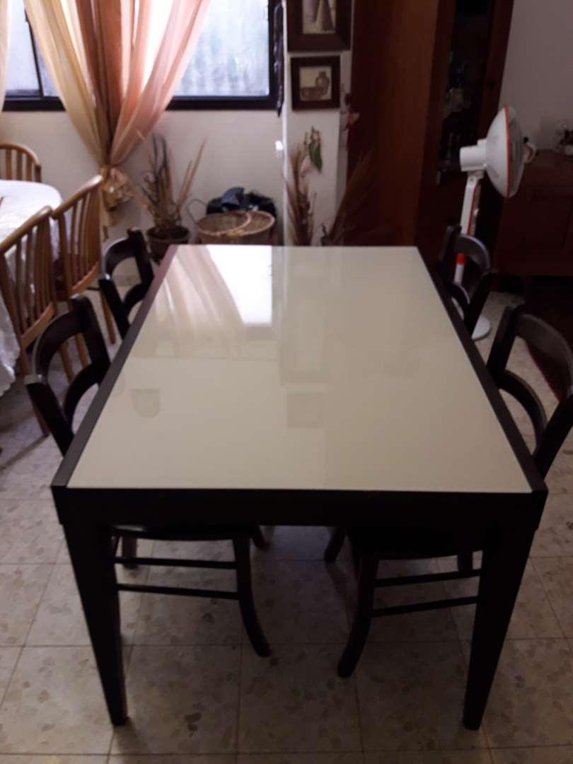 תמונה 2 ,שולחן מהודר מעץ מלא למכירה במיתר ריהוט  פינת אוכל