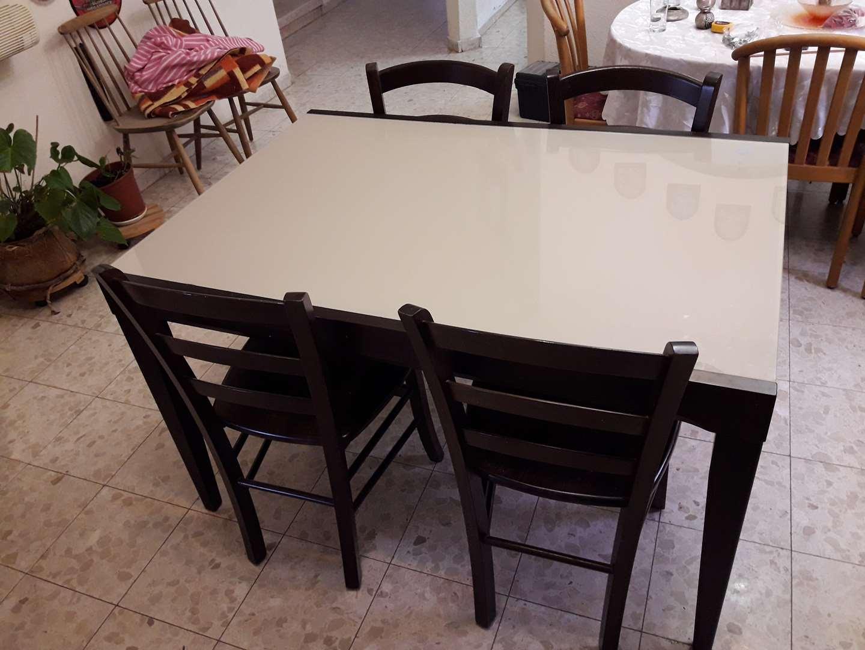 תמונה 3 ,שולחן מהודר מעץ מלא למכירה במיתר ריהוט  פינת אוכל