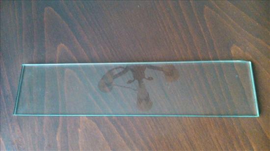 זכוכית מחוסמת לדלת תנור פיצה