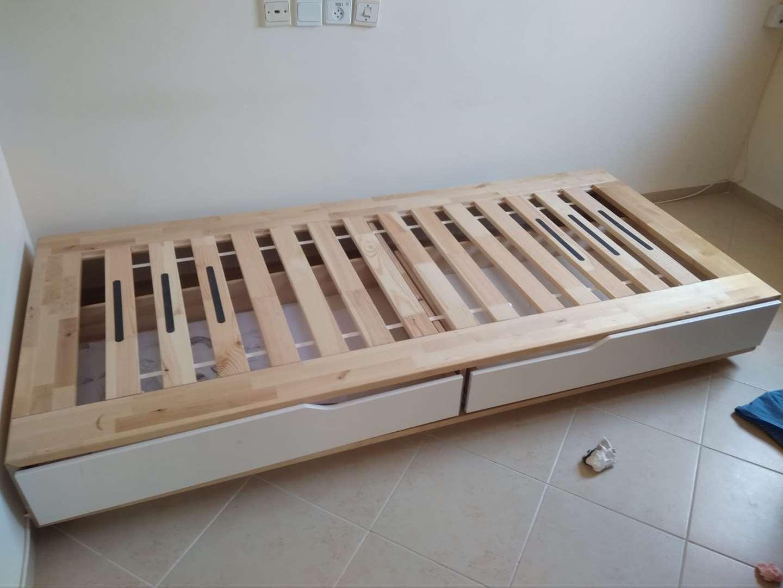 מדהים מיטה+מזרון של איקאה למכירה בחיפה 1000 שח | ריהוט - מיטות | לוח יד SI-55