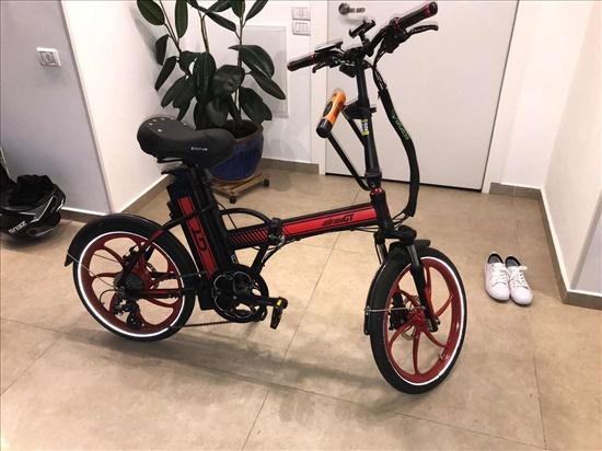 אופניים חשמליים alpha GT