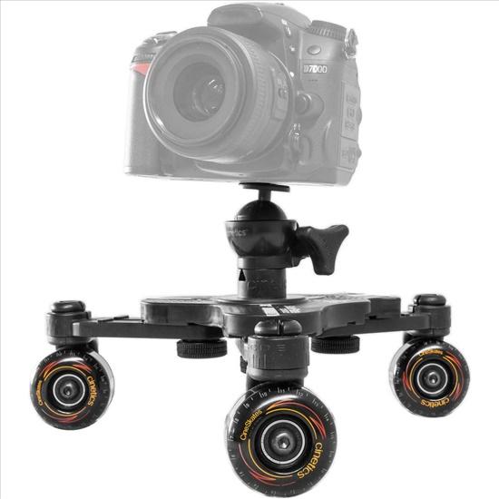 דולי 4 גלגלים לצילום נמוך