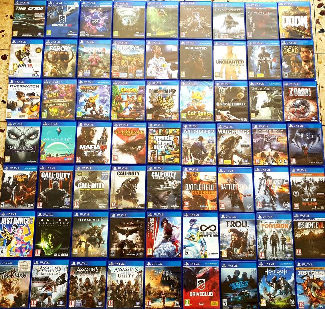 משחקים וקונסולות - משחקים