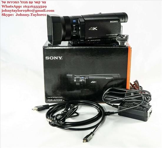 סוני FDR - AX 100E 4K מצלמת וי