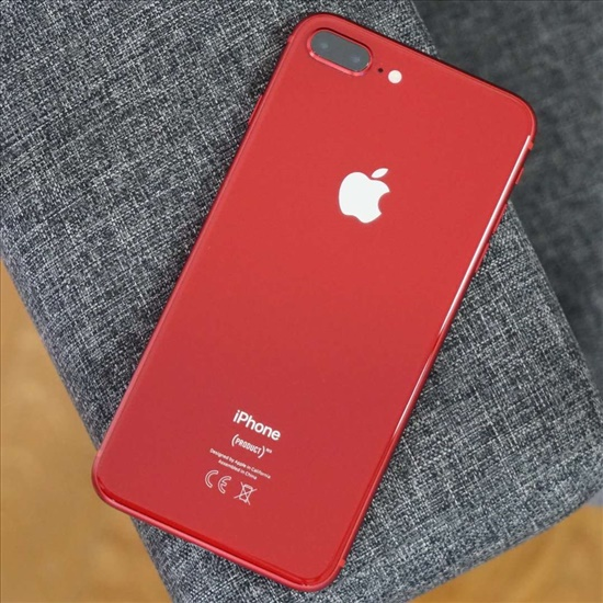 Iphone 8plus red with box