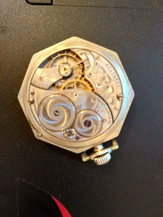 שעון כיס ELGIN מקורי