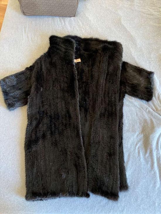 מעיל פרווה 100% מינק