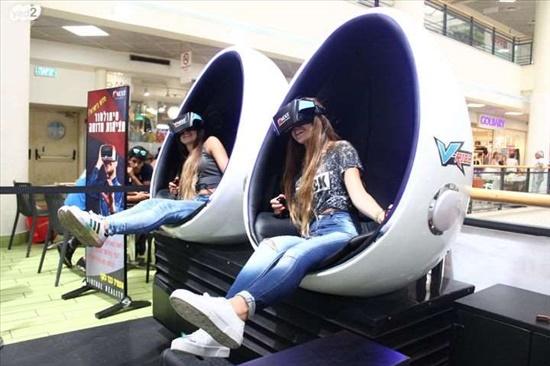 סימולטור מציאות מדומה VR