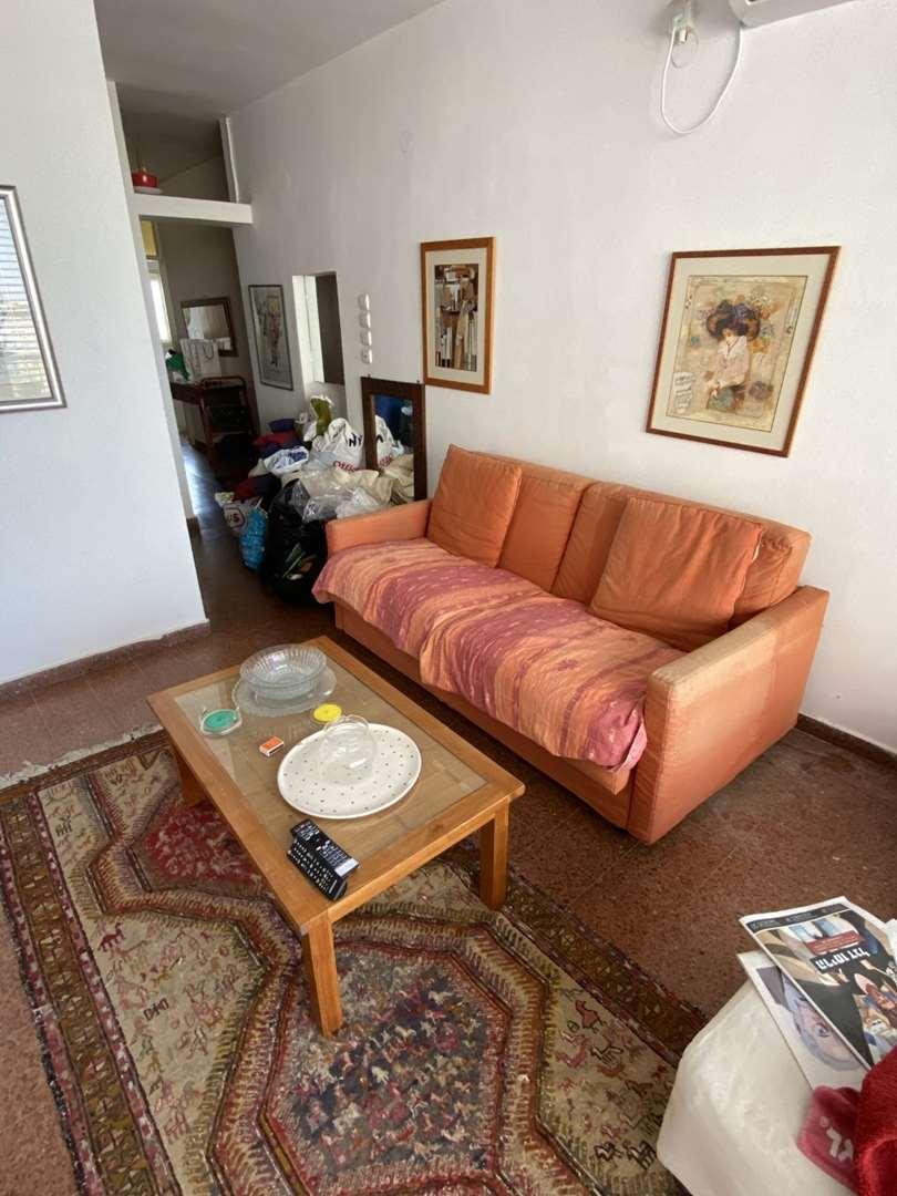 ספה הולנדית נפתחת נדירה+שולחן לסלון