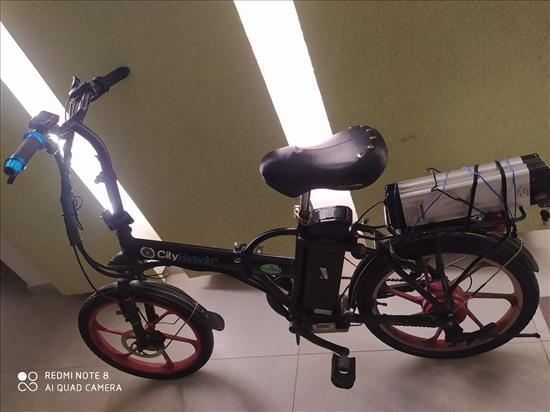 אופניים חשמליים שתי בטריות