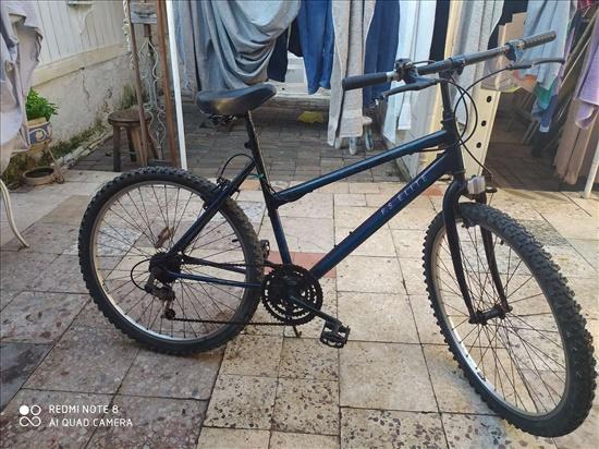 אופניים + מנעול + שרשרת
