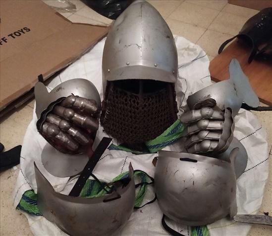 שריון אביר אמיתי - זול!!