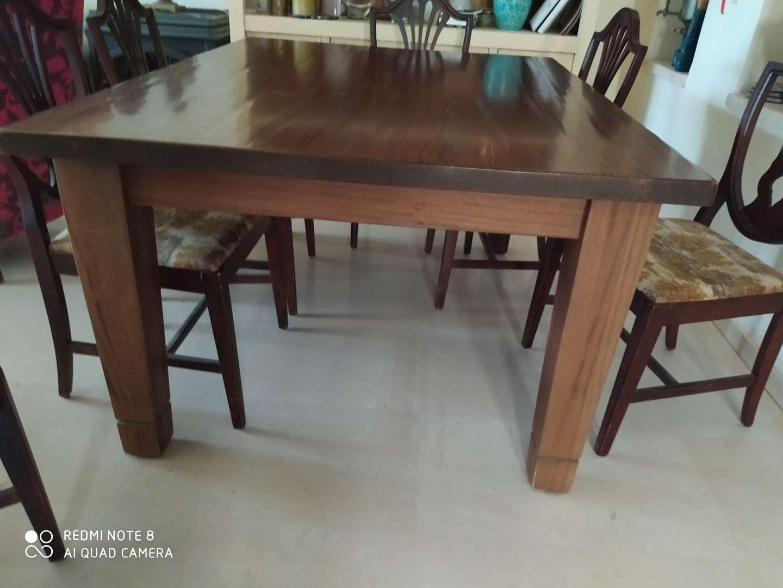 שולחן+4כסאות 3000