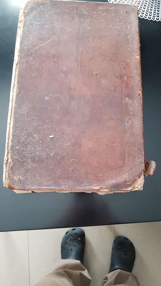 ספר גמרא בן 200 שנה  מסכת שבת