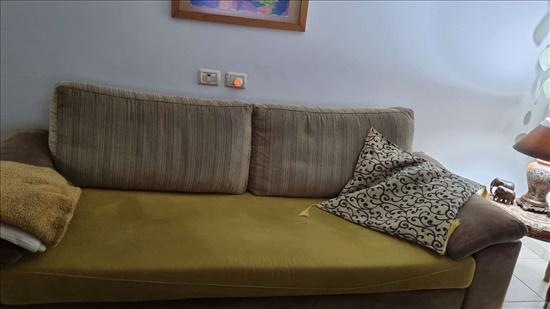ספה תלת מושבי+ הדום