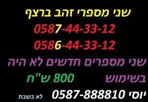 סלולרי מספרי זהב 1