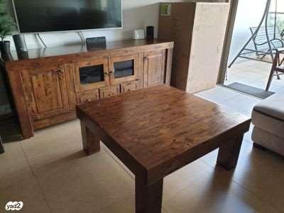 מזנון + שולחן סלון