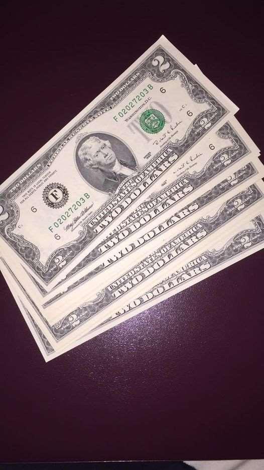 שטרות   2  דולר  חדשים