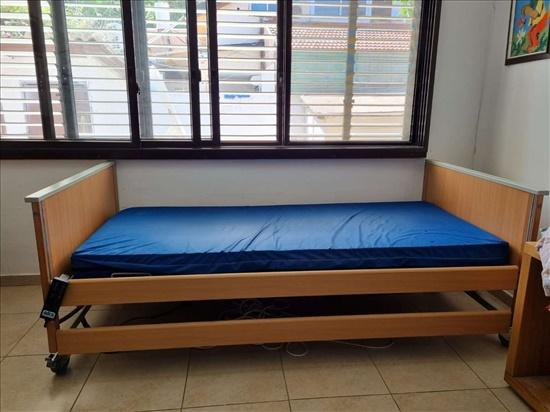מיטה סיעודית חשמלית + מזרון