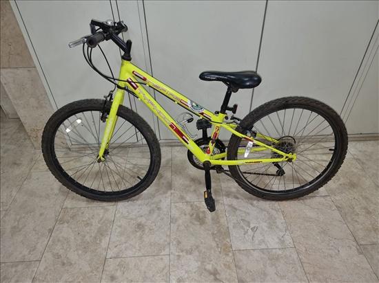 אופני נערים מידה s - גלגל 24 מ