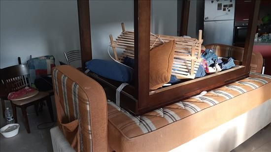 מיטה . ספה , כורסאות , שולחן