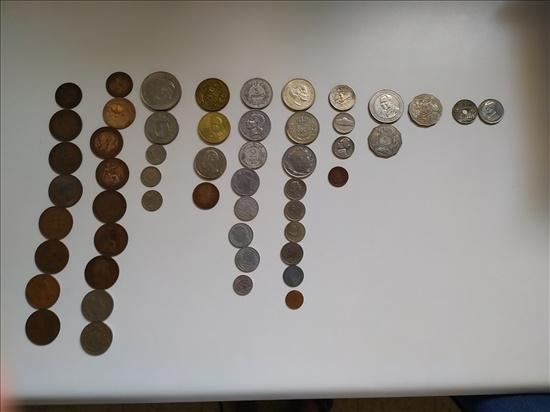 מטבעות ישנים ממדינות בעולם
