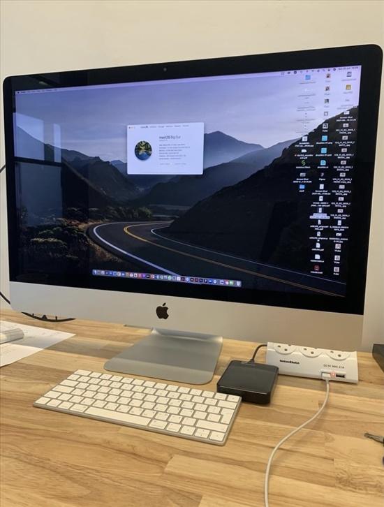 מחשב 27 Imac רטינה משודרג כחדש